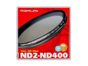 Marumi filter 67mm DHG VARI-ND Filter ( ND2-ND400),