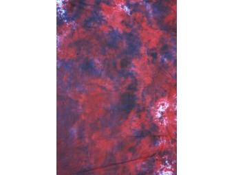 Fomei 2,7x7 m BATIK-červeno-bílo-černá, fotografické pozadie