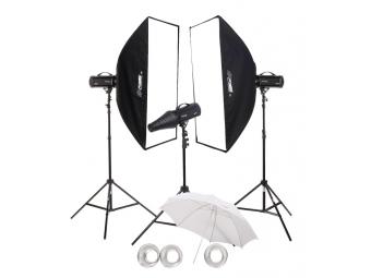 Fomei Digital Pro X/500/500/500, kit štúdiových bleskov