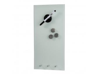Hama 125977 sklenená magnetická tabuľa, 20x40 cm, biela