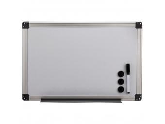 Hama 125982 biela magnetická tabuľa, 40x60 cm, hliníková, strieborná