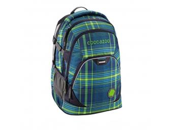 CoocaZoo 129869 Školský ruksak EvverClevver2, Walk The Line Lime