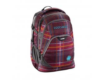 CoocaZoo 129872 Školský ruksak EvverClevver2, Walk The Line Purple