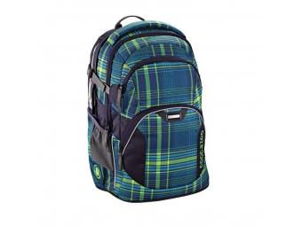 CoocaZoo 129880 Školský ruksak JobJobber, Walk The Line Lime