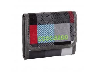 CoocaZoo 129942 Peňaženka CashDash, Checkmate Blue Red