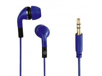 Hama 135638 slúchadlá Flip, silikónové štuple, modré