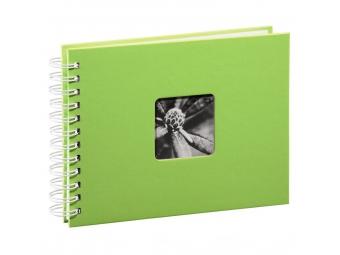Obrázok Hama 2114 album klasický špirálový FINE ART 24x17 cm, 50 strán, kivi, biele listy