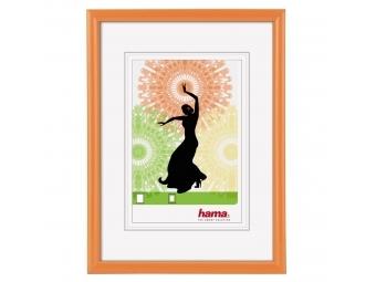 Hama 31722 plastový rám Madrid 10x15 cm, oranžový