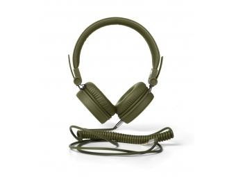 FRESH ´N REBEL 48003000 Caps slúchadlá, vojenská zelená