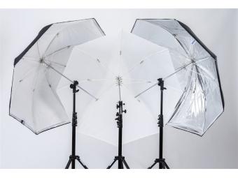 Lastolite Umbrella All In One 72cm Silver/White (LU3237F)