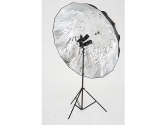 Lastolite Mega Umbrella 157cm Silver Parabolicl (LU7908F)