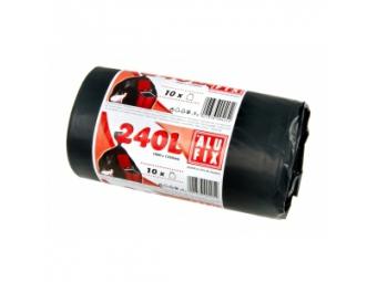 Alufix Vrecia na odpad 35mic 240l,1000x1250mm,čierne(bal=10ks)