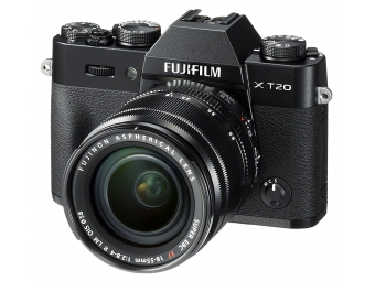 Fujifilm X-T20 + Fujinon XF18-55mm f/2,8-4 čierny