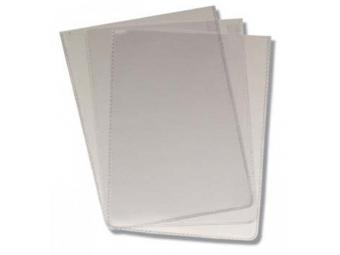 Obal PVC 80x110mm na doklady 0,15mm, transparentný (bal=50ks)