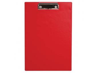 Písacia Doska-podložka A4 s klipom laminovaná červená