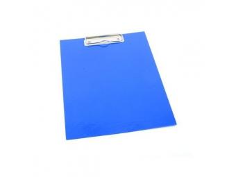 Písacia Doska-podložka A5 s klipom laminovaná modrá