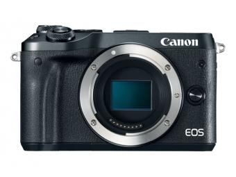 Canon EOS M6 telo, čierne (pri kúpe s objektívom až -1000€ SPÄŤ) + 16 GB pamäťová karta