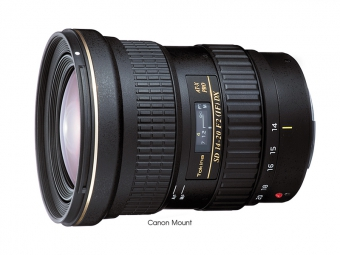 Tokina AT-X 14-20mm f/2 PRO DX Canon