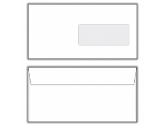 Obálka DL s okienkom,odtrh.páskou (bal=1000ks)