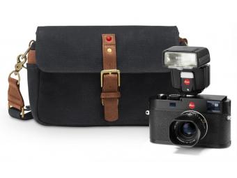LEICA M black kit (Typ 262) + objektív 35/2.4 + 75/2.4, blesk, taška