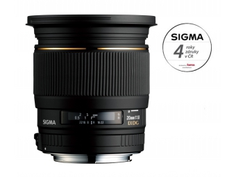 Sigma 20/1.8 EX DG ASP RF Canon záruka 4 roky