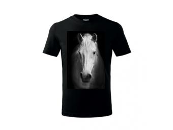 Tričko PLUS s potlačou fóliou, farebné, bavlna
