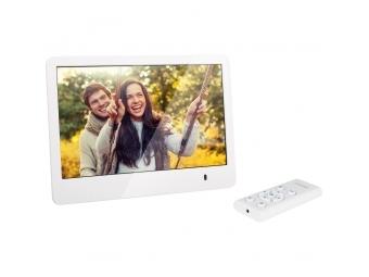 Sencor SDF 873 W digitálny fotorámik biely