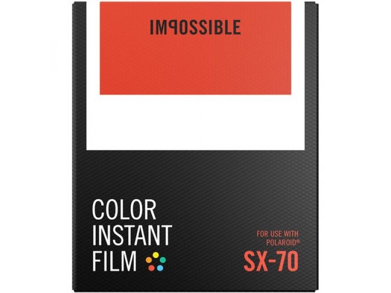 5cac3398c Impossible film pre Polaroid SX-70 COLOR | Foto-video | Fotoaparáty ...