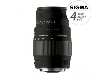 Sigma 70-300/4-5,6 DG MACRO Nikon záruka 4 roky