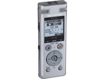 Olympus DM-720 - Digitálny záznamník, strieborný