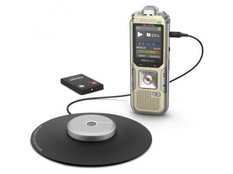 Philips digitálny záznamník DVT8010 - 8GB, USB, microSDHC, nahrávanie konferencií