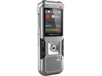 Philips digitálny záznamník DVT4010 - 8GB, USB, microSDHC až 32GB, farebný displej, li-pol batéria