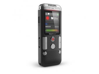 Philips digitálny záznamník DVT2510 - 8GB, USB, microSDHC až 32GB, MP3, farebný displej