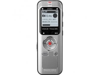 Philips digitálny záznamník DVT2000 - 4GB, USB, microSDHC až 32GB, FM, MP3