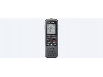 SONY digitálny záznamník ICD-PX240 - 4 GB, výkon reproduktoru 300 mW