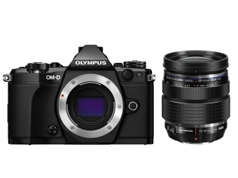 Olympus OM-D E-M5 Mark II Kit 12-40 PRO čierny/čierny + bateriový grip HLD-8