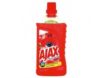 Ajax Floral Fiesta Prostriedok na podlahy 1l,divé kvety červený