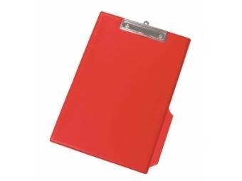 Q-Connect Písacia podložka s klipom A4 a úchytom pre pero červená