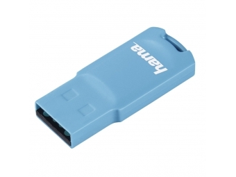 Hama FlashPen Pastell USB 2.0, 32 GB, 15 MB/s, svetlá modrá