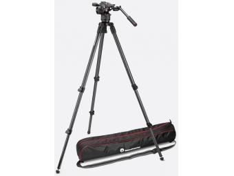 Manfrotto MVKN8C VIDEO statív karbon 535 s hlavou Nitrotech N8 + taška