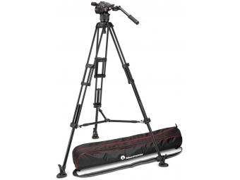 Manfrotto MVKN8TWINM VIDEO statív hliník 546B s hlavou Nitrotech N8 + taška