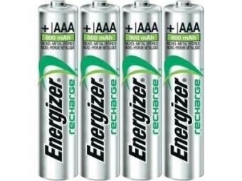 Energizer batérie AAA-HR03/4 mikrotužkové (bal=4ks)