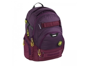 CoocaZoo 138732 Školský ruksak CarryLarry2, Solid Berrymann