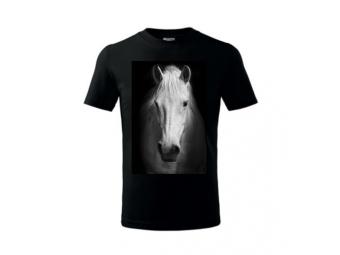 Tričko PLUS s priamou potlačou, farebné, bavlna