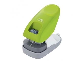 Plus Paper Clinch zošívačka bezspinková,2-dierk. zelená (10l)