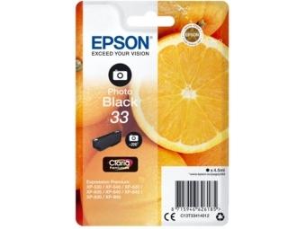 Epson T3341 Atramentová náplň Claria Premium Photo Black