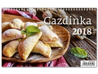 Kalendár 2018 GAZDINKA nástenný,týždenný,riadkový 226x139mm