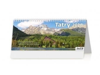 Kalendár 2018 TATRY stolový,týždenný,stl´pcový 321x134mm