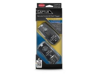 Hähnel CAPTUR Remote Olympus/Panasonic - diaľková spúšť DSLR + diaľková spúšť blesku pre Olympus/Panasonic