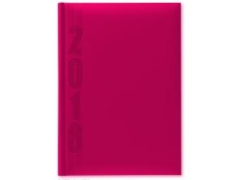 Herlitz Diár 2018 A5 denný 352 str,15x21cm, pastel.ružová